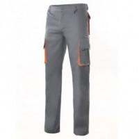 Pantalone multitasche bicolore 103004