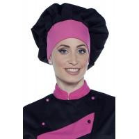 Cappello cuoco bicolore