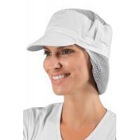Cappello con rete per capelli