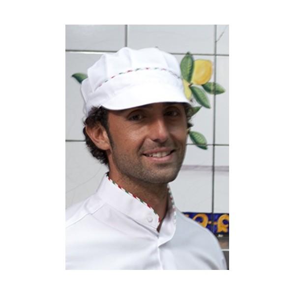 Cappello pizzaiolo tricolore 49e6aca97170