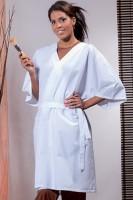 kimono per estetista e parrucchiere centro benessere