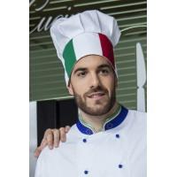 Cappello cuoco tricolore